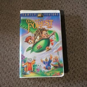 Once Upon a Forest VHS